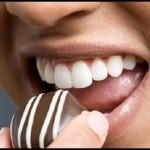 Mindful chocola eten